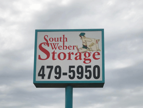 South Weber Storage Sign